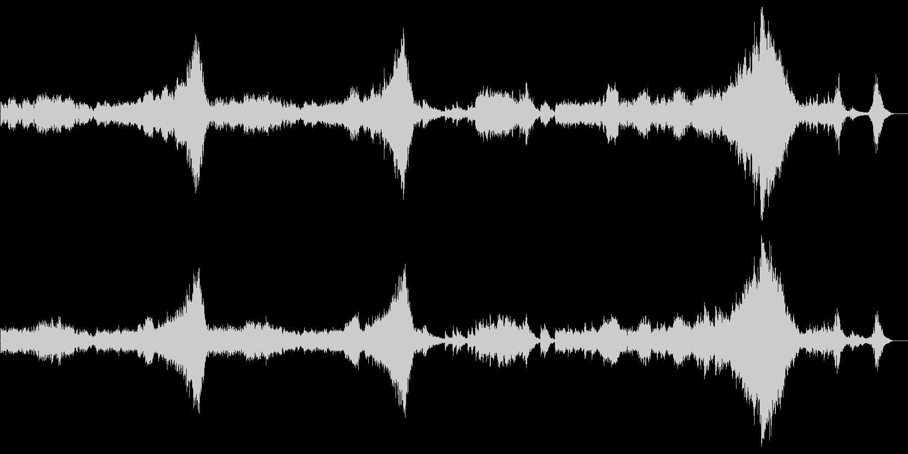 「クープランの墓」から 『序曲』の未再生の波形