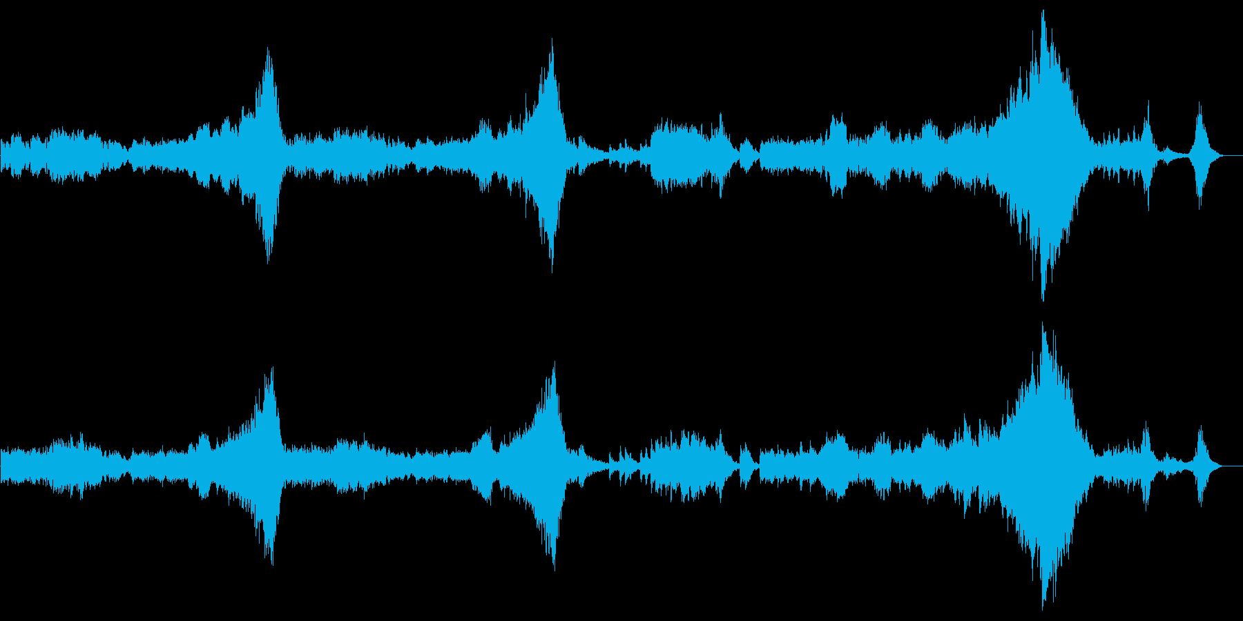 「クープランの墓」から 『序曲』の再生済みの波形