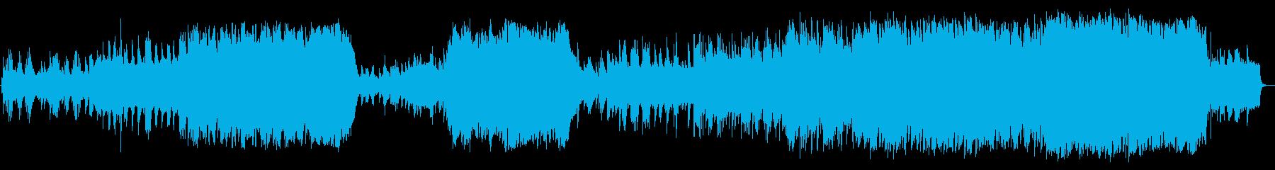 ピアノで奏でる壮大で感動的なバラードの再生済みの波形