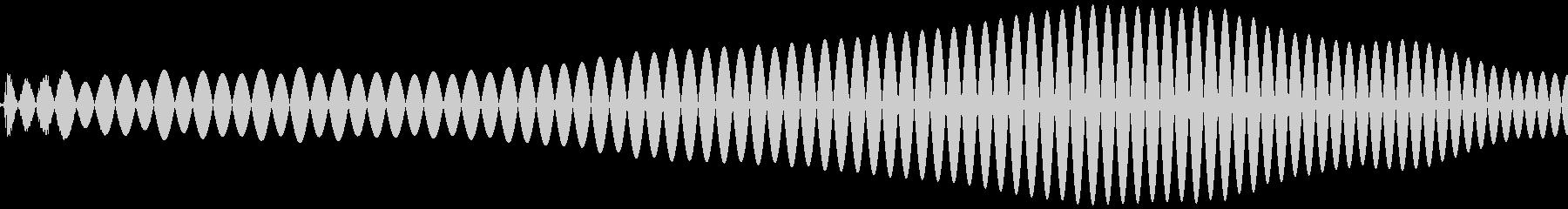 ポワ(コミカル、可愛い音)の未再生の波形