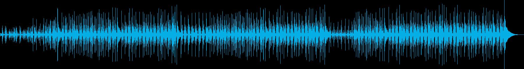 フォークの雰囲気漂うインディーポップスの再生済みの波形