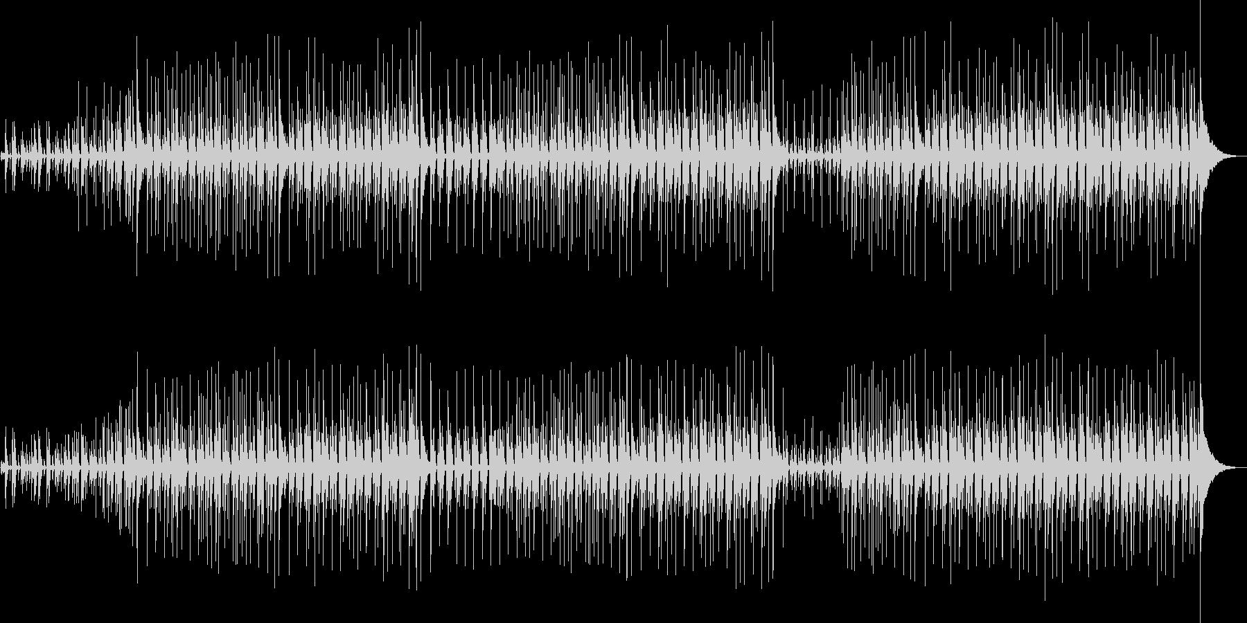 フォークの雰囲気漂うインディーポップスの未再生の波形