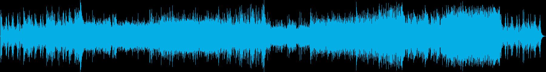 【ミリタリー系】作戦行動BGMの再生済みの波形