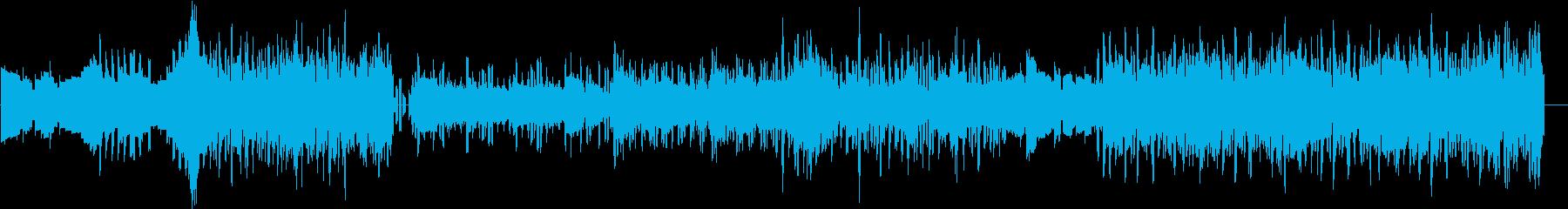 ちょっとおしゃれなチップチューンの再生済みの波形