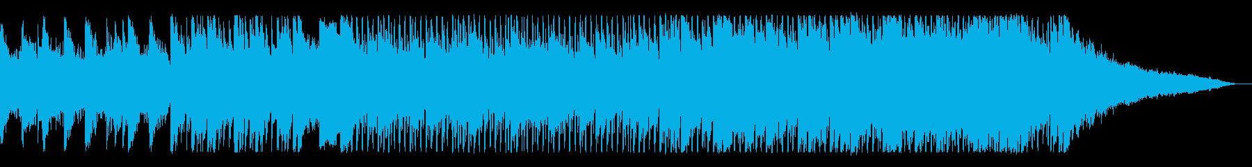 ピアノがかっこいいテクノサウンドの再生済みの波形