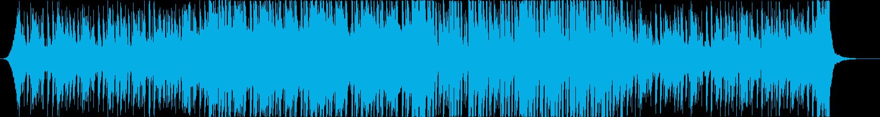 レトロでおしゃれな80'Sエレクトロbの再生済みの波形