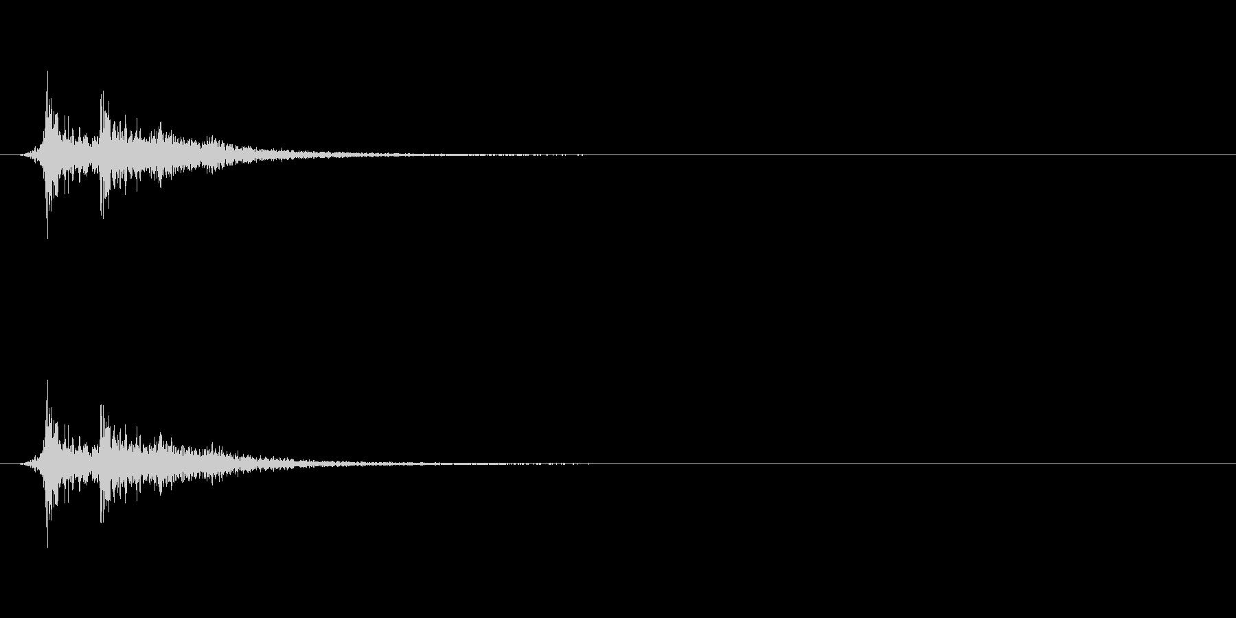剣・構える-08の未再生の波形