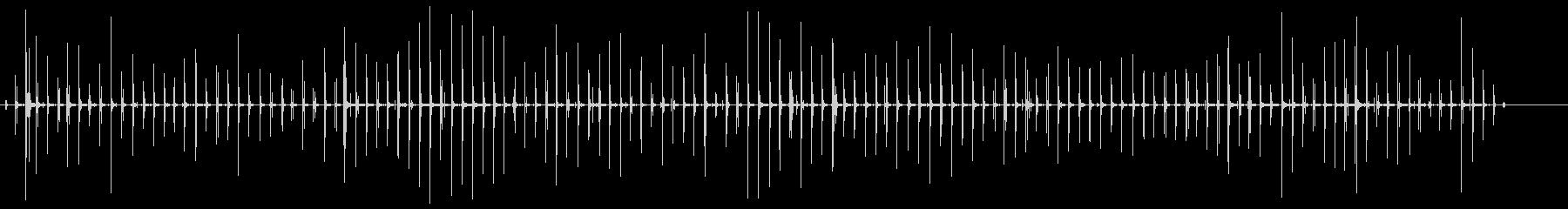 硬いコンクリートのステップ-ハイヒ...の未再生の波形