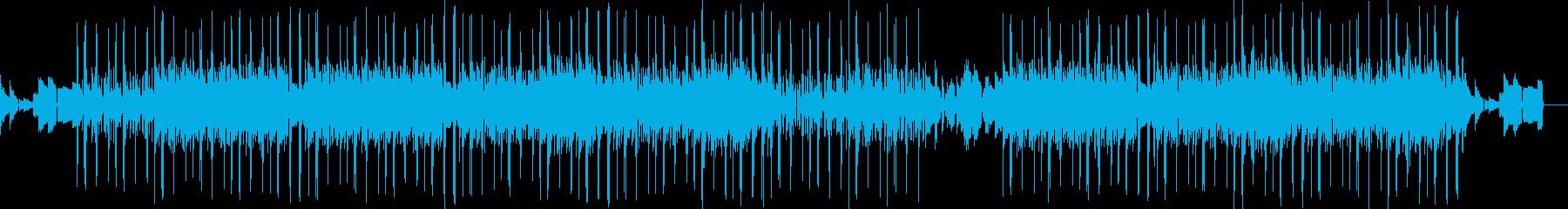 エレピに3本のメロディーが絡むチルホップの再生済みの波形
