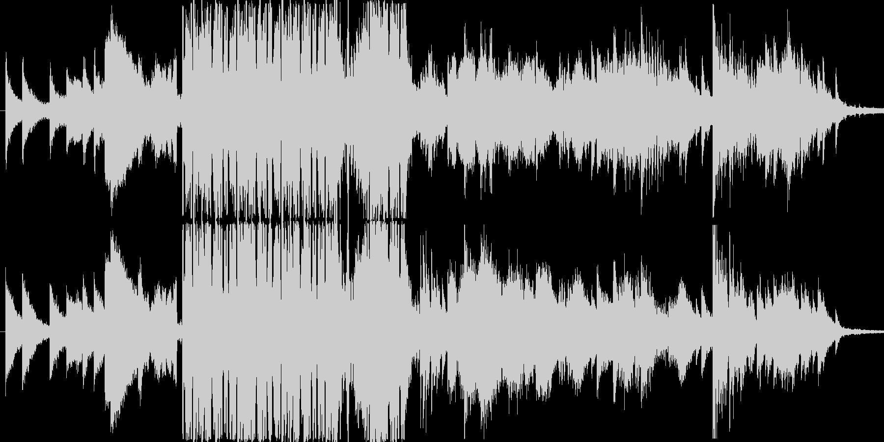 力強いピアノの調べが心に響くの未再生の波形