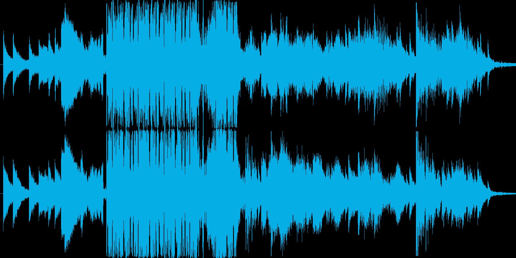 力強いピアノの調べが心に響くの再生済みの波形