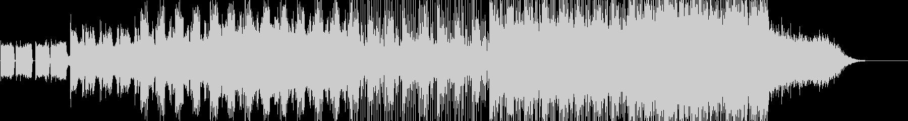 [劇伴] 緊迫サスペンス ギター&シンセの未再生の波形