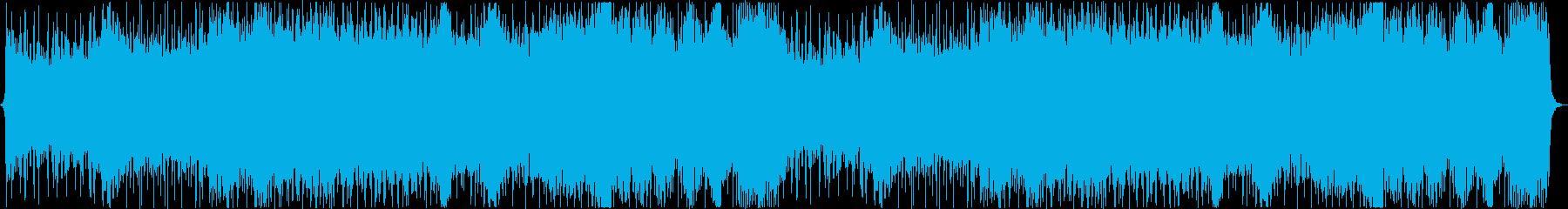 壮大なシネマティック戦闘曲の再生済みの波形