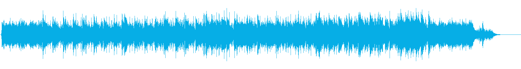 スマートなBGM(メロ無しバージョン)の再生済みの波形