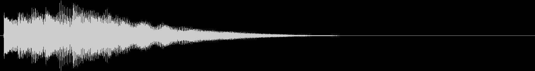 フレーズ系07 文字、テロップ表示(大)の未再生の波形