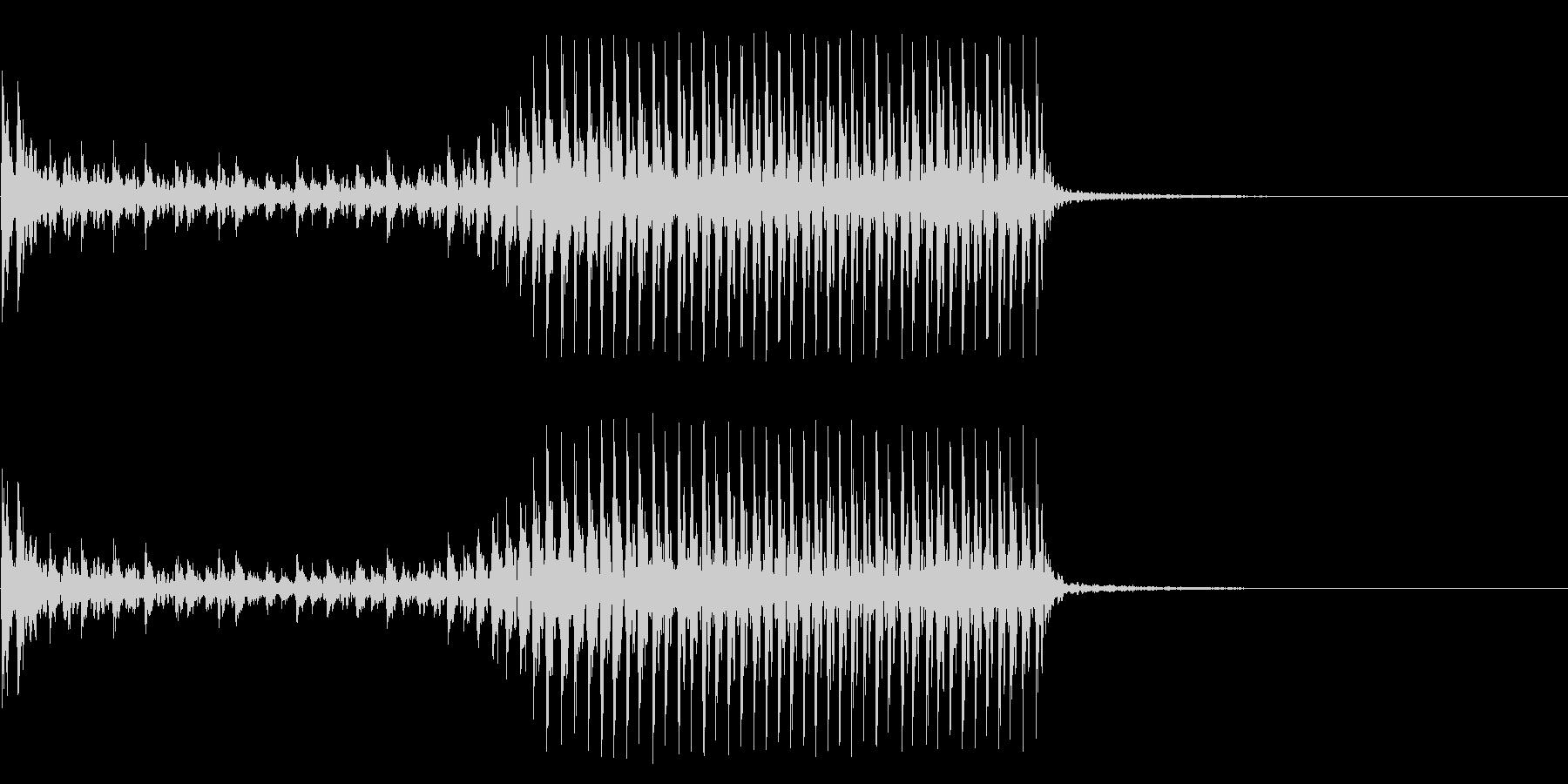 低音:高速ビルトロールアクセント、...の未再生の波形