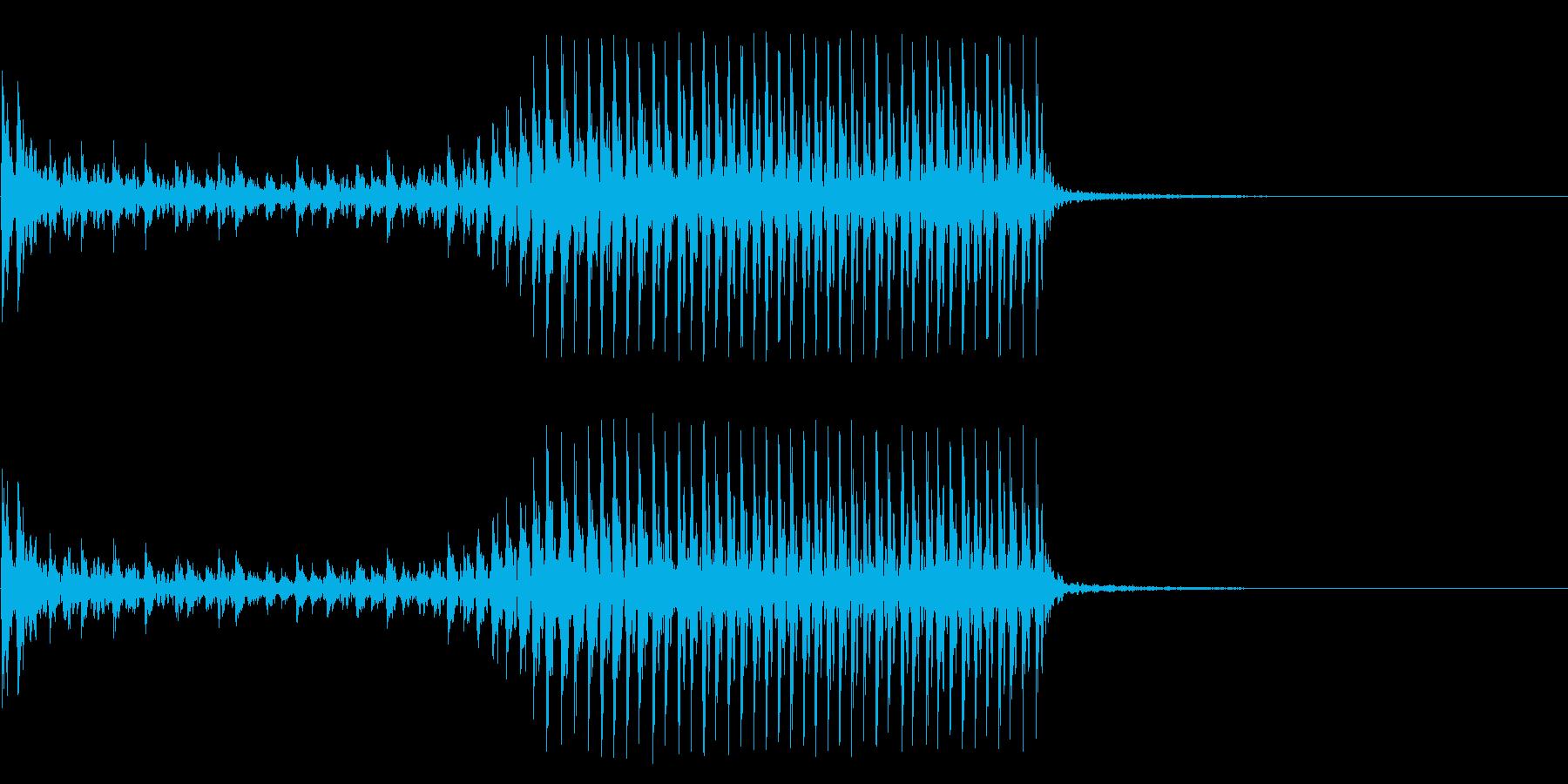 低音:高速ビルトロールアクセント、...の再生済みの波形