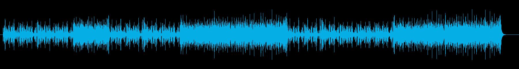 小粋なポップ・メロディーの再生済みの波形