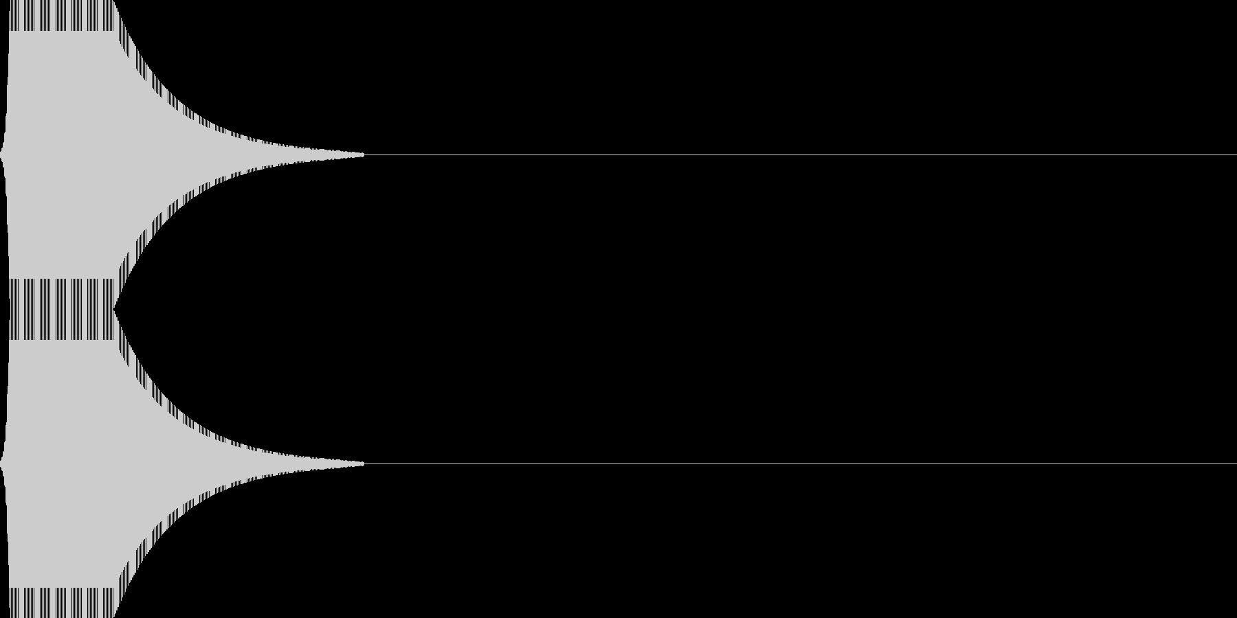 ジャン_金属質(click_011_)の未再生の波形