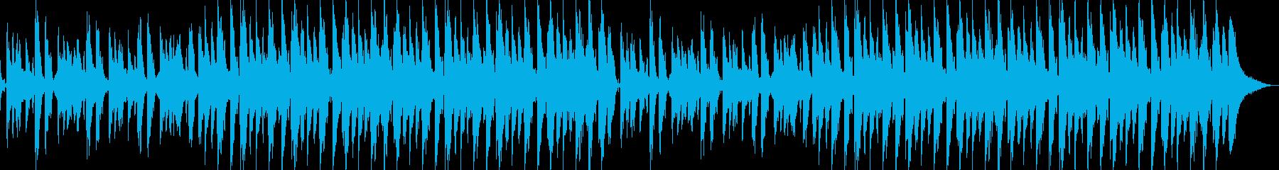 【ジングル】ディープハウスな雰囲気の再生済みの波形