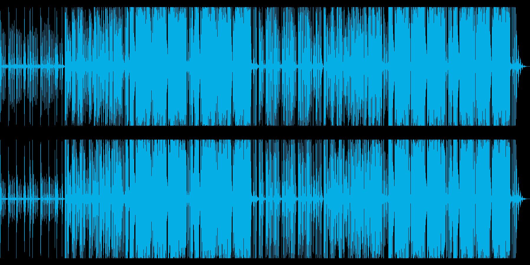 カワイイフューチャーベース風。の再生済みの波形