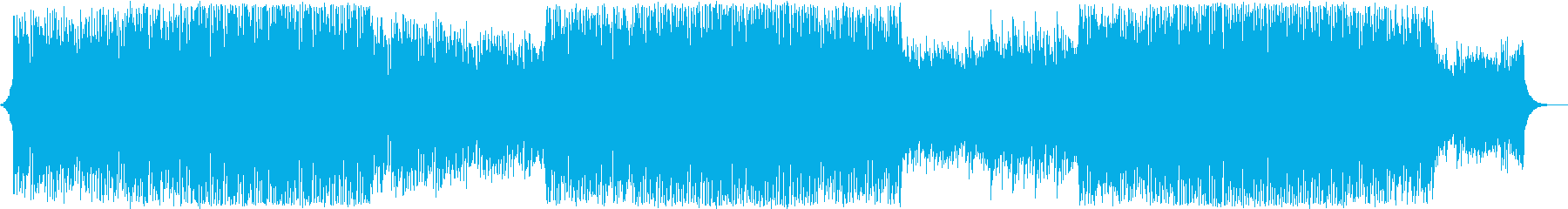 明るく爽やか 企業向けBGMの再生済みの波形