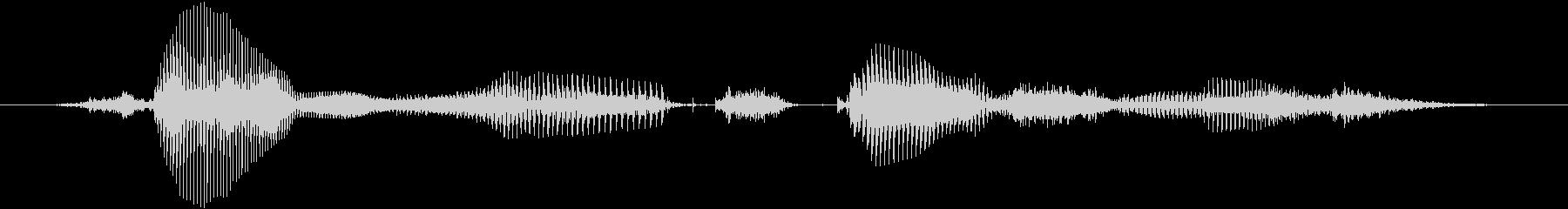 【時報・時間】3時をお伝えしますの未再生の波形