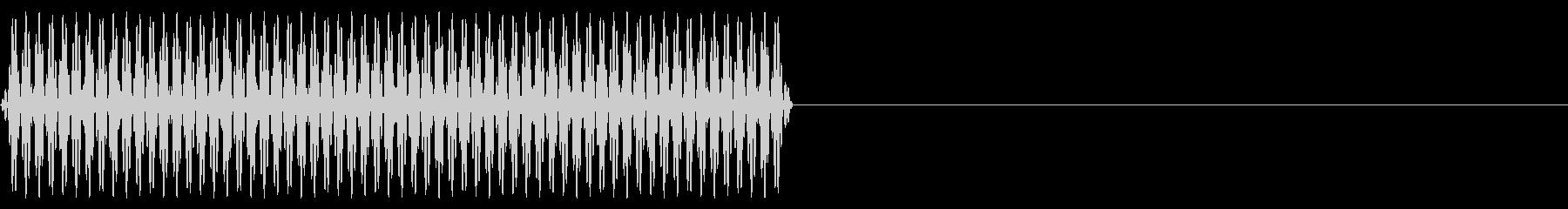 『ピッ』電話のプッシュ音(1)-単音の未再生の波形