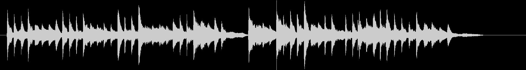 ささやかな感動シーンに合うピアノソロですの未再生の波形