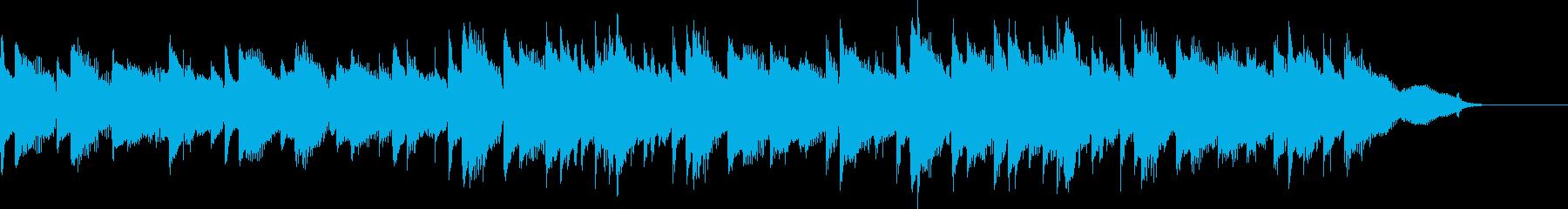 CM30秒、感動的なアコギとピアノ、日常の再生済みの波形