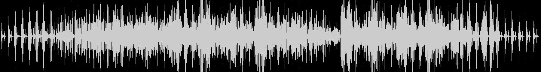 ピアノの多重奏で作られたポップスの未再生の波形