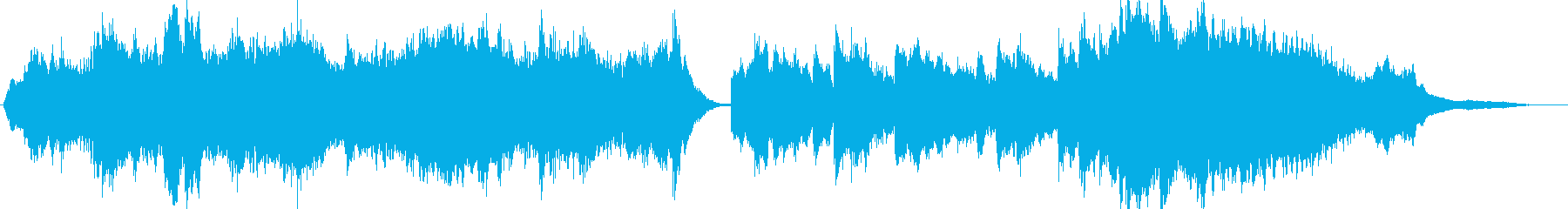 ピアノで軽音楽な曲の再生済みの波形