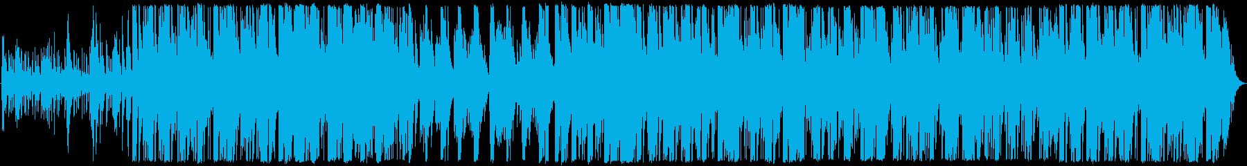 明るいピアノのリラックスしたメロディーの再生済みの波形