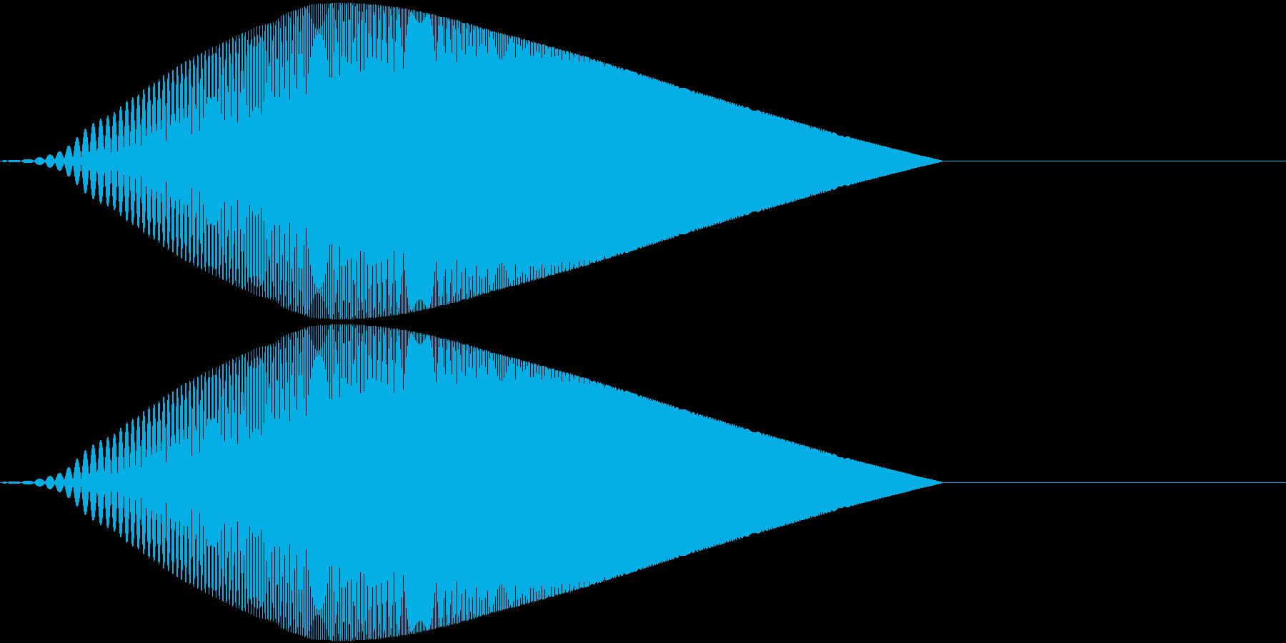 Tool プレゼン映像向け動作SE 6の再生済みの波形