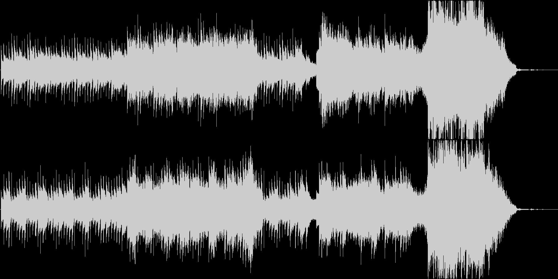 プラネタリウムをイメージしたオーケストラの未再生の波形