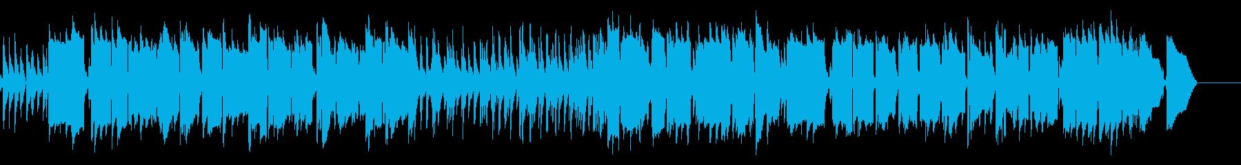 【ムーディーなサックスのジャズBGM】の再生済みの波形