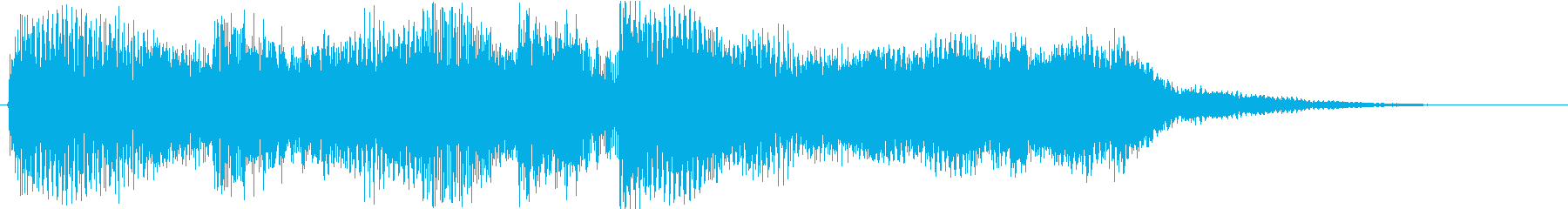 Beautiful scene change BGM for piano and stringed instruments's reproduced waveform