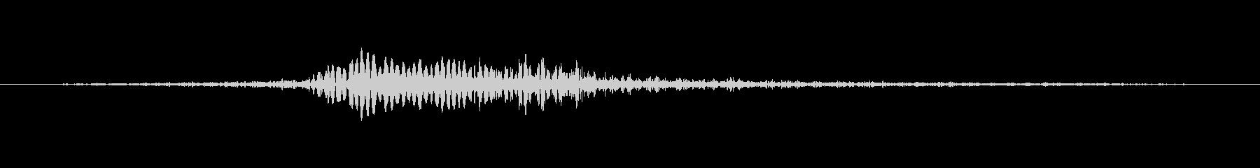 ホラー プラグインインパクト01の未再生の波形