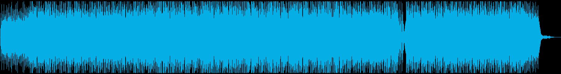 爽やかピアノポップの再生済みの波形