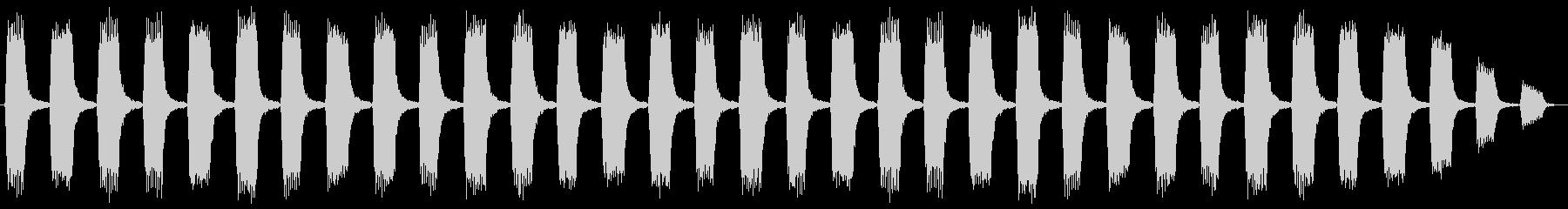 セキュリティーアラートの未再生の波形