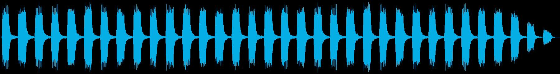 セキュリティーアラートの再生済みの波形
