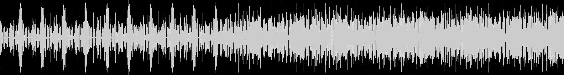クールなエレクトロループ音源の未再生の波形