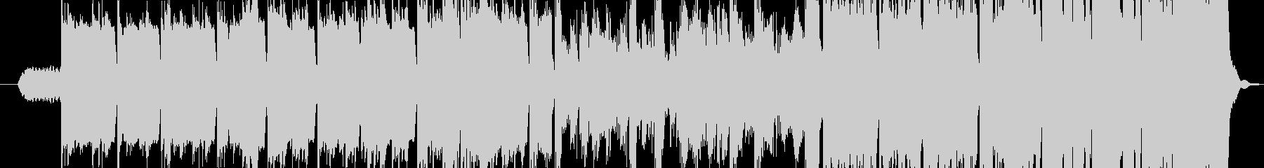 ゆっくりとしたケルト哀愁バグパイプの未再生の波形