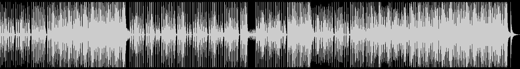 シンプルでキャッチ―なダンスビートの未再生の波形