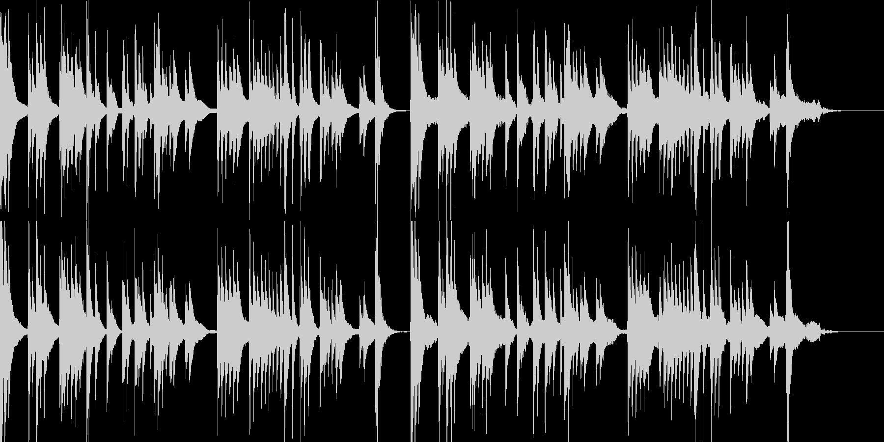 和風 琴のシンプルなしらべ 鬼滅的回想等の未再生の波形