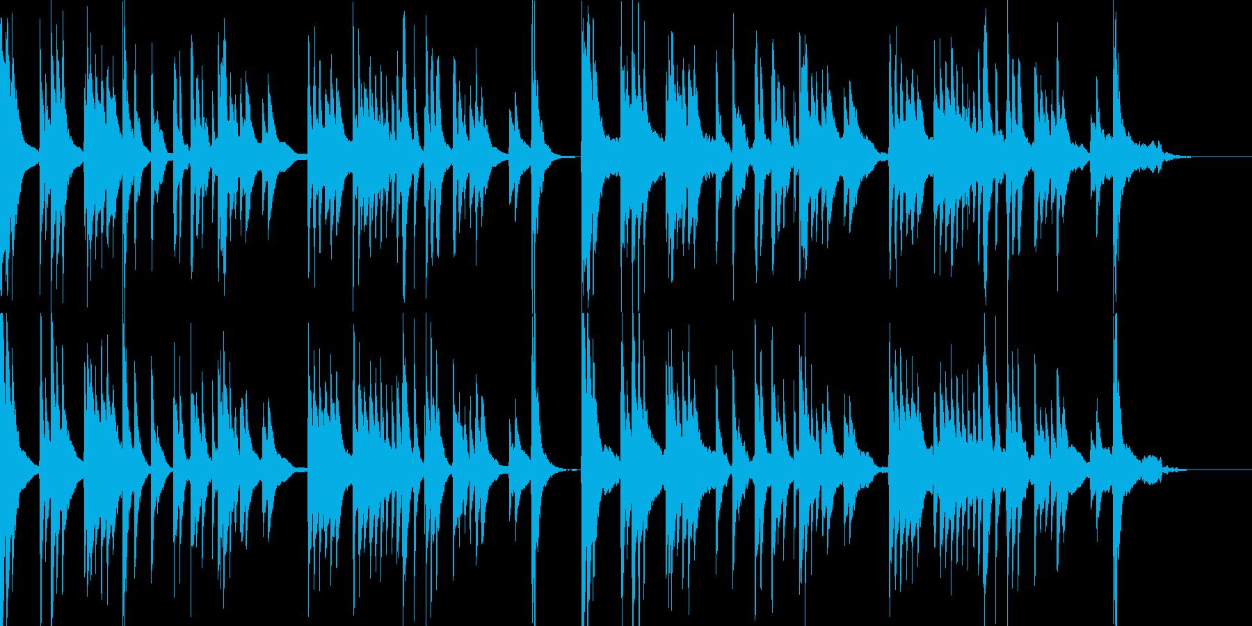 和風 琴のシンプルなしらべ 鬼滅的回想等の再生済みの波形