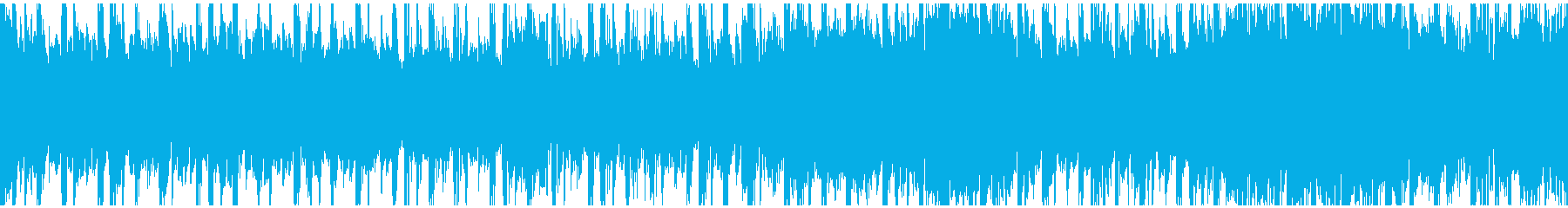 ミッドテンポのエレクトロビートとデ...の再生済みの波形