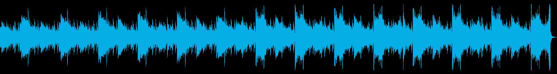 ピアノ・ミニマル・幻想的・風景の再生済みの波形