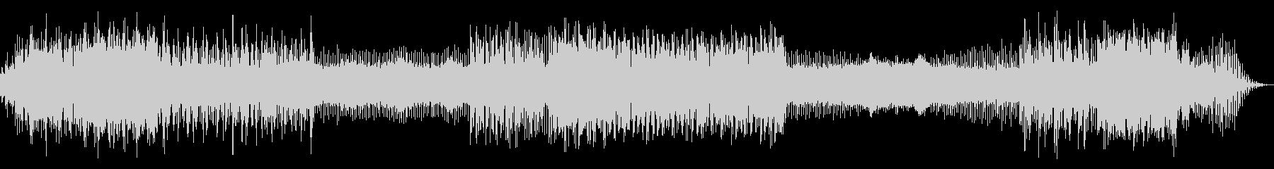 シネマサウンドを意識したアンビエントの未再生の波形