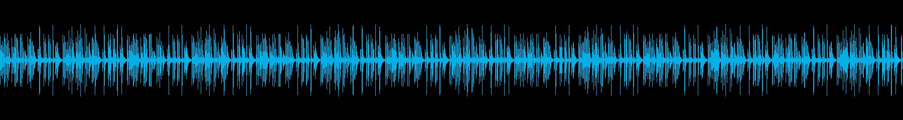 静かな奇妙・不思議・不可解なトーク用の再生済みの波形